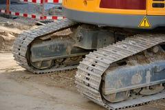 Crawler excavators Royalty Free Stock Photo