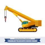 Crawler telescopic boom Stock Image