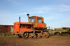 Crawler tractor Royalty Free Stock Photography