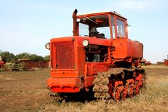 Crawler tractor Royalty Free Stock Photo