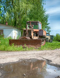 Crawler tractor Stock Images
