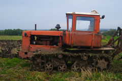 Crawler tractor Royalty Free Stock Image