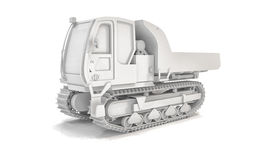 Crawler Type Vehicle - Shot 2 Stock Image