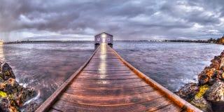 Crawley Łódkowata jata, Perth, zachodnia australia Fotografia Royalty Free