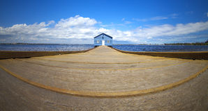 Crawley Boat Shed, Perth, Western Australia. Royalty Free Stock Images