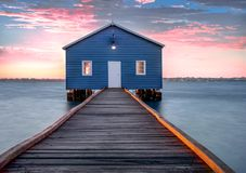 Crawley Edge Boathouse, royalty free stock photography