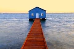 Crawley Edge Boathouse Royalty Free Stock Image