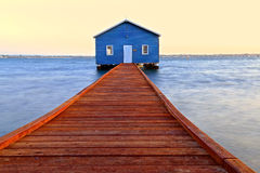 Crawley Edge Boathouse Royalty Free Stock Images