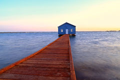 Crawley Edge Boathouse Royalty Free Stock Image