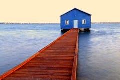 Crawley Edge Boathouse Stock Image