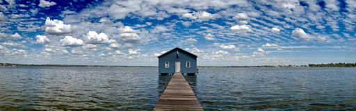 Crawley Edge Boatshed aka. Matilda Bay Boatshed Stock Image