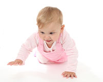 Crawling baby Royalty Free Stock Photos