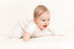 Crawling baby Royalty Free Stock Photography