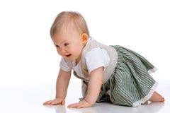 Crawling baby Royalty Free Stock Photos