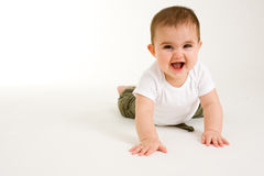 Crawling Baby 3 Stock Images
