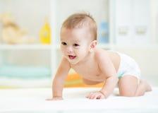 Free Crawling Baby Royalty Free Stock Photos - 47851198