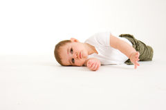Crawling Baby  Royalty Free Stock Image