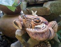 Crawling Crab Garden sculpture Stock Photography