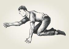 Crawling Stock Image
