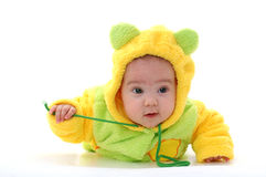 Crawling toddler Royalty Free Stock Images