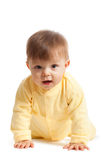 Crawling toddler Royalty Free Stock Photo
