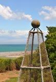 Cray Fisch-Hummer-Potenziometer bei Kaikoura, Neuseeland Lizenzfreies Stockbild