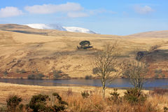 Cray Reservoir Royalty Free Stock Images