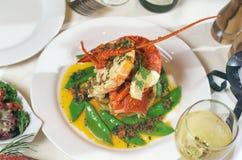 Crayfish Dinner Stock Photos
