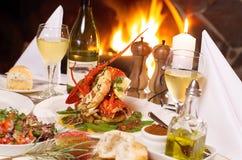 Crayfish Dinner Royalty Free Stock Image