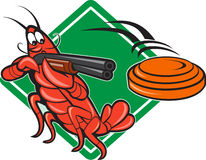 Crayfish Lobster Target Skeet Shooting Stock Photos