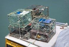 Crayfish nets Royalty Free Stock Image