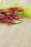 Crayfish serving Royalty Free Stock Photo