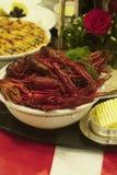Crayfish and shrimps Royalty Free Stock Photos