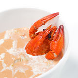 Crayfish Soup Royalty Free Stock Photo