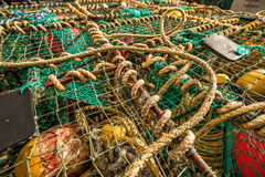 Crayfish traps Stock Photography
