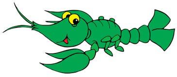 Crayfish (vector clip-art) Stock Images