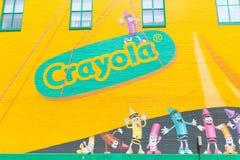 Crayola doświadczenie w Easton, Pennsylwania fotografia royalty free