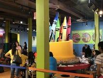 Crayola doświadczenie w Easton, Pennsylwania Zdjęcia Stock