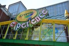 Crayola-Erfahrung in Easton, Pennsylvania Lizenzfreie Stockbilder