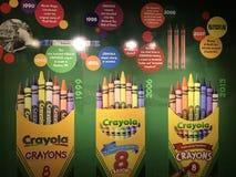 Crayola-Erfahrung in Easton, Pennsylvania Stockbilder
