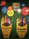 Crayola Experience in Easton, Pennsylvania Stock Image