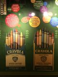 Crayola Experience in Easton, Pennsylvania Stock Photography