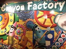 Crayola Experience in Easton, Pennsylvania Royalty Free Stock Images