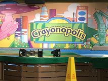 Crayola Experience in Easton, Pennsylvania Royalty Free Stock Photography