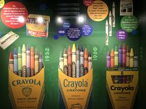 Crayola Experience in Easton, Pennsylvania Royalty Free Stock Photos