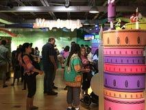 Crayolaervaring in Easton, Pennsylvania Stock Foto's