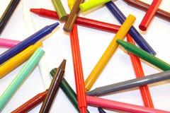 crayon коллажа Стоковая Фотография