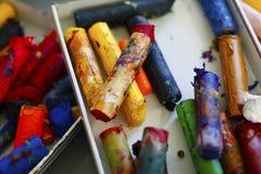 Crayon художников Стоковые Фото