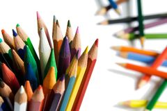 The crayon Royalty Free Stock Image