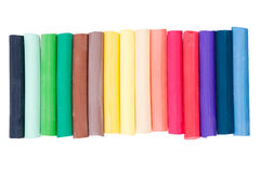 Crayon. Set of colored pastel crayons for drawing Stock Photography